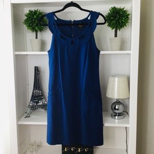 Laundry by Shelli Segal, Blue Midi Dress